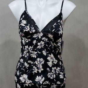 Details about  /New Women's Vince Camuto Tank /& Shorts PJ Set Gray Black M XL